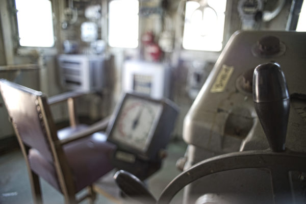 Captains deck