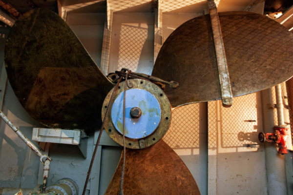 Extra spare propeller